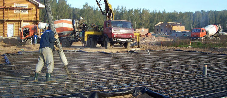 Когда лучше всего заливать бетон? Статьи про бетон