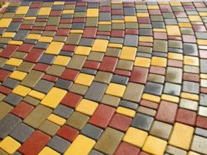 выбрать тротуарную плитку. Вибролитая тротуарная плитка