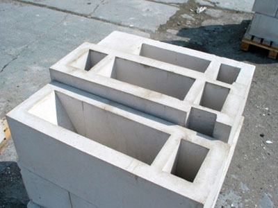 Фундамент из фбс-блок пустотный. Фото,статьи